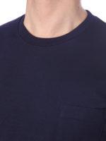 Tシャツ丸ポケ付